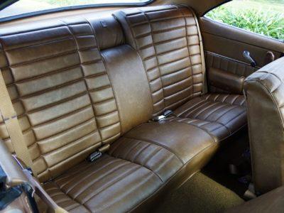 Brown seats Holden
