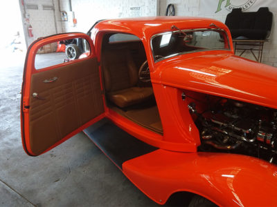 Custom car interiors